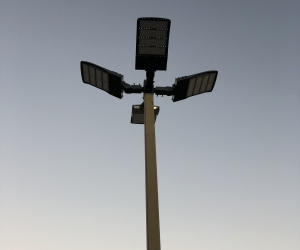 Parking Lot Light LED Conversion 3