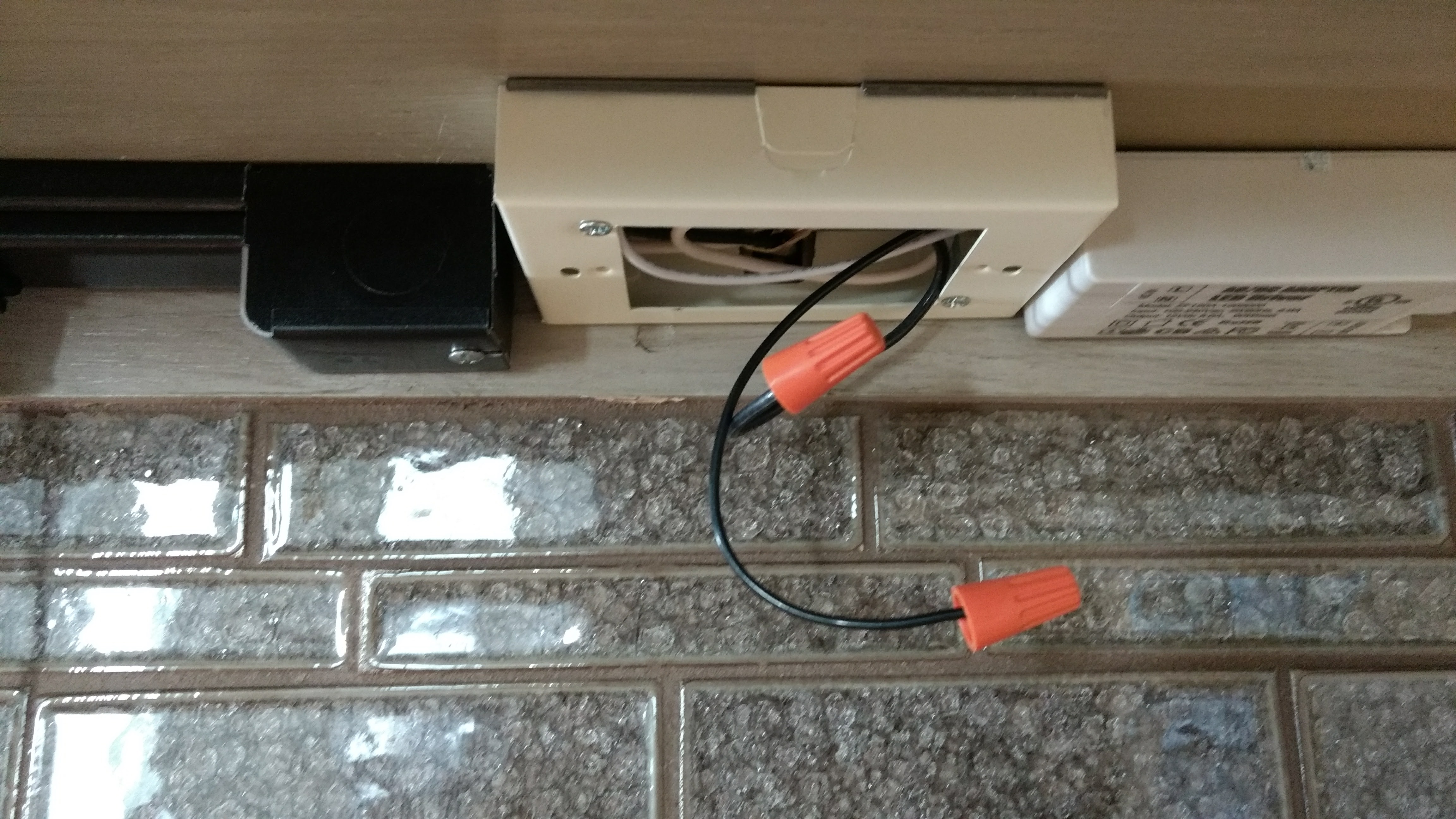 Residential Who Conduit House Wiring Junction Box Under Cabinet